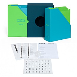 Savor The Library: School Years Edition Keepsake Gift Box in Ocean