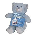 Kids Preferred™ Plush Bear Gift Card Holder in Blue