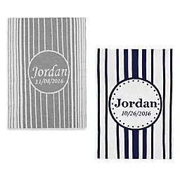 Tadpoles™ by Sleeping Partners Knit Ombré Vertical Stripe Blanket