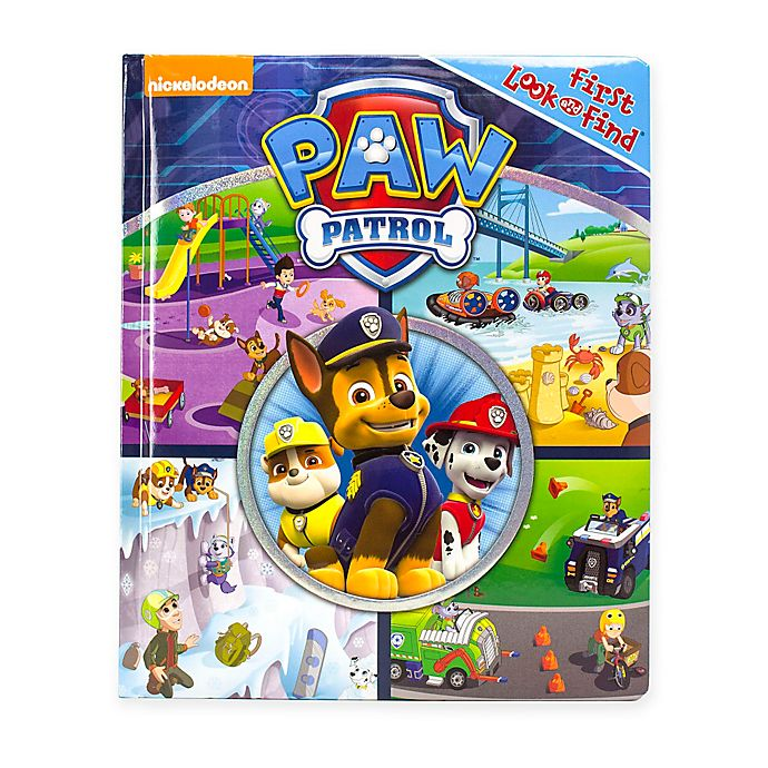 Alternate image 1 for Nickelodeon™ PAW Patrol My First Look and Find Book