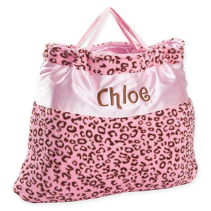 Alternate image 1 for Cheetah Nap Bag in Pink
