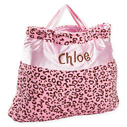 Cheetah Nap Bag in Pink