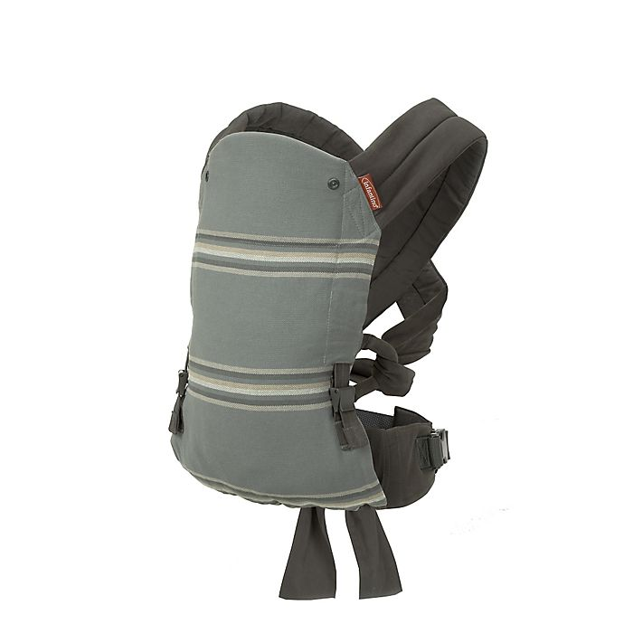 Infantino Close Ties Natural Fit Baby Carrier In Grey Buybuy Baby