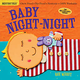 """Indestructibles """"Baby Night-Night"""" Book by Kate Merritt"""