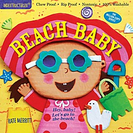 "Indestructibles ""Beach Baby"" Book by Kate Merritt"
