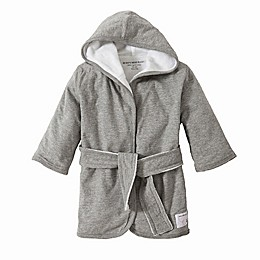 Burt's Bees Baby® Organic Cotton Knit Terry Robe in Grey