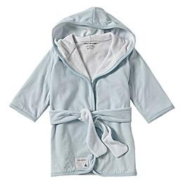 Burt's Bees Baby® Organic Cotton Knit Terry Robe in Sky