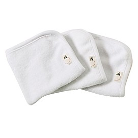 Burt's Bees Baby® 3-Pack Organic Cotton Washcloths in Cloud