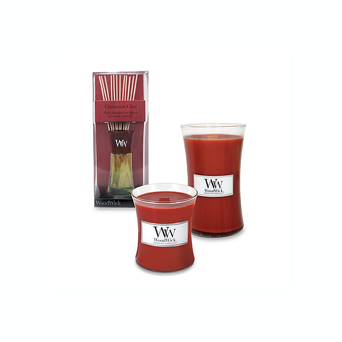 Alternate image 1 for WoodWick® Cinnamon Chai Candles and Diffusers