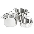 SALT® 8 qt. Stainless Steel 4-Piece Multi-Cooker