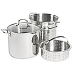 SALT® 12 qt. Stainless Steel 4-Piece Multi-Cooker