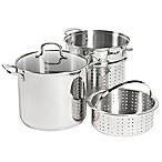 SALT® 12 qt. Stainless Steel 4-Piece Multi-Cooker