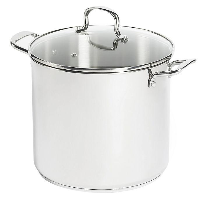 Alternate image 1 for SALT® 16 qt. Stainless Steel Stock Pot