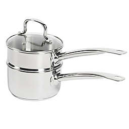 SALT® 2-Piece 2 qt. Stainless Steel Double Boiler