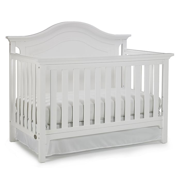 Ti Amo Catania 4 In 1 Convertible Crib In Snow White Bed Bath Beyond