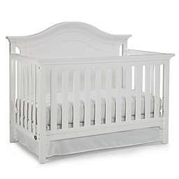 Ti Amo Catania 4-In-1 Convertible Crib in Snow White
