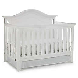 Ti Amo Catania 4-In-1 Convertible Crib in Snow White