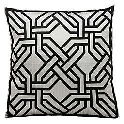 kathy ireland® Home by Nourison Chain Square Throw Pillow