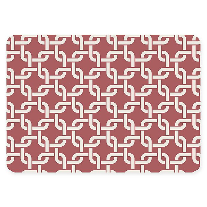 Alternate image 1 for The Softer Side by Weather Guard™ 18-Inch x 27-Inch Interlink Kitchen Mat in Warm