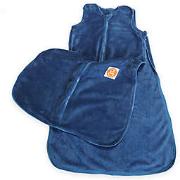 Gunamuna Gunapod® Plush Fleece Wearable Blanket with WonderZip® in Blue