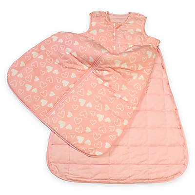 Gunamuna Gunapod® Luxury Duvet with WonderZip® in Pink Hearts