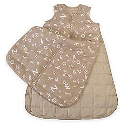 Gunamuna Gunapod® Luxury Duvet with WonderZip® in Grey Alphabet