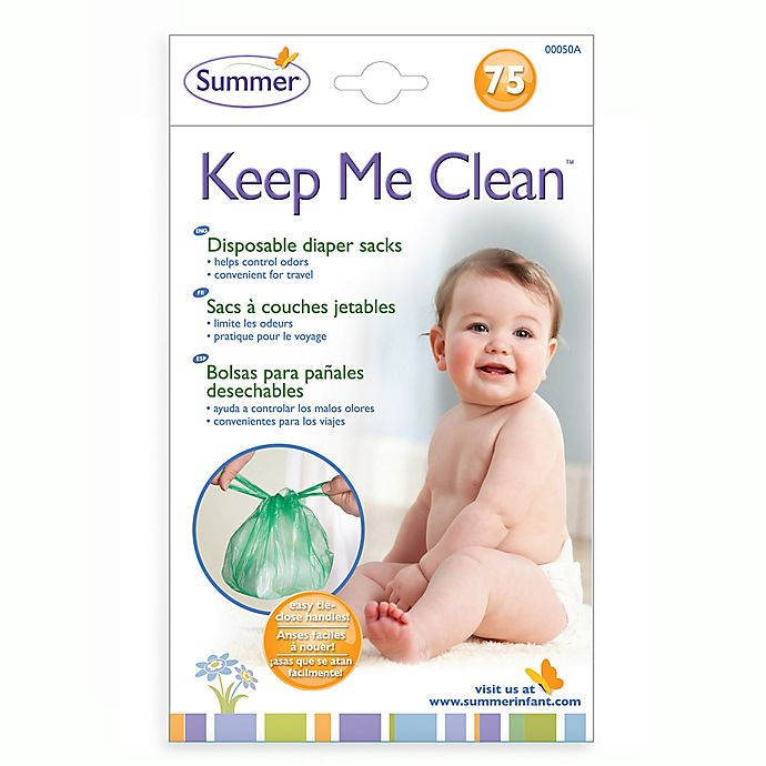 Alternate image 1 for Summer® Keep Me Tidy™ 75-Count Disposable Diaper Sacks