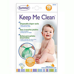 Summer® Keep Me Tidy™ 75-Count Disposable Diaper Sacks