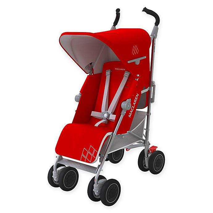 Alternate image 1 for Maclaren® Techno XT Stroller in Cardinal/Silver
