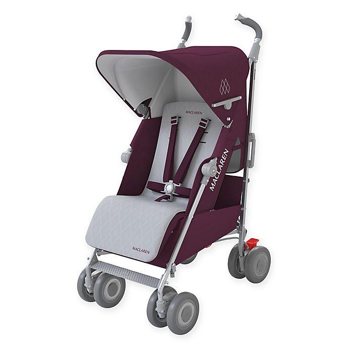Maclaren® Techno XLR Stroller in Plum/Silver | buybuy BABY