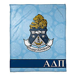 Alpha Delta Pi Greek Sorority Throw Blanket in Blue