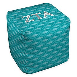 Zeta Tau Alpha Greek Ottoman