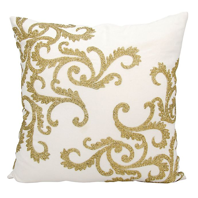 Alternate image 1 for Mina Victory Corner Scroll 20-Inch Throw Pillow Collection