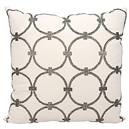 Mina Victory Circles 20-Inch Square Throw Pillow Collection