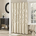Madison Park Laurel 72-Inch x 72-Inch Shower Curtain in Ivory