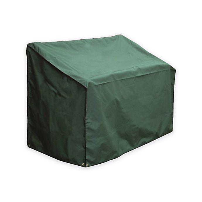 Alternate image 1 for Bosmere 2-Seater Bench Cover in Green