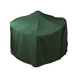 Bosmere Low Fire Pit Cover in Green