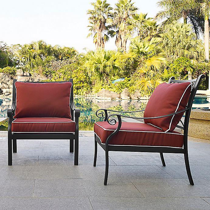 Alternate image 1 for Crosley Portofino Patio Arm Chairs (Set of 2)