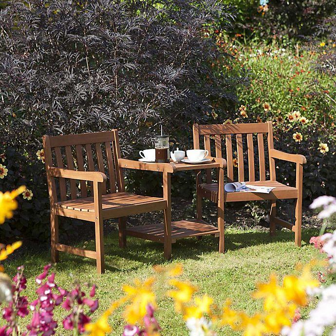 Alternate image 1 for Bosmere Rowlinson Hampton 3-Piece Companion Set in Honey Brown