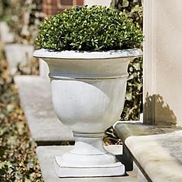 Campania Beldon Planter in Antique White
