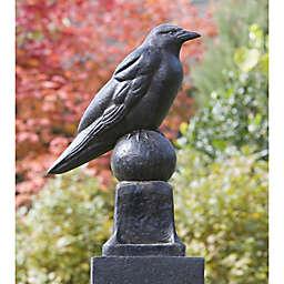 Campania Raven Garden Statue in Terra Nera