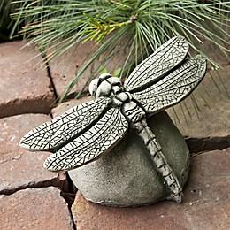 Campania Dragonfly Statue in Alpine Stone