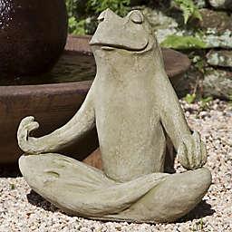 Campania 18-Inch Totally Zen Too Statue in English Moss