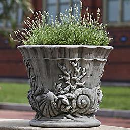 Campania Smithsonian Chesapeake Urn Planter in Alpine Stone