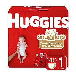 Huggies® Little Snugglers 140-Pack Size 1 Mega Colossal Diapers