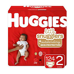 Huggies® Little Snugglers 124-Pack Size 2 Mega Colossal Diapers