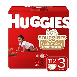 Huggies® Little Snugglers 112-Pack Size 3 Mega Colossal Diapers
