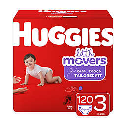 Huggies® Little Movers 120-Pack Size 3 Mega Colossal Diapers