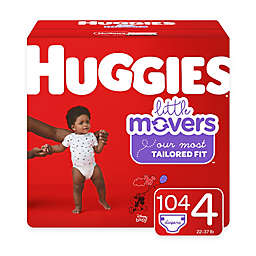 Huggies® Little Movers 104-Pack Size 4 Mega Colossal Diapers