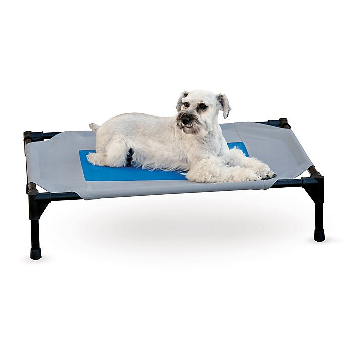 Alternate image 1 for K&H™ Pet Cot™ Cover in Grey/Blue